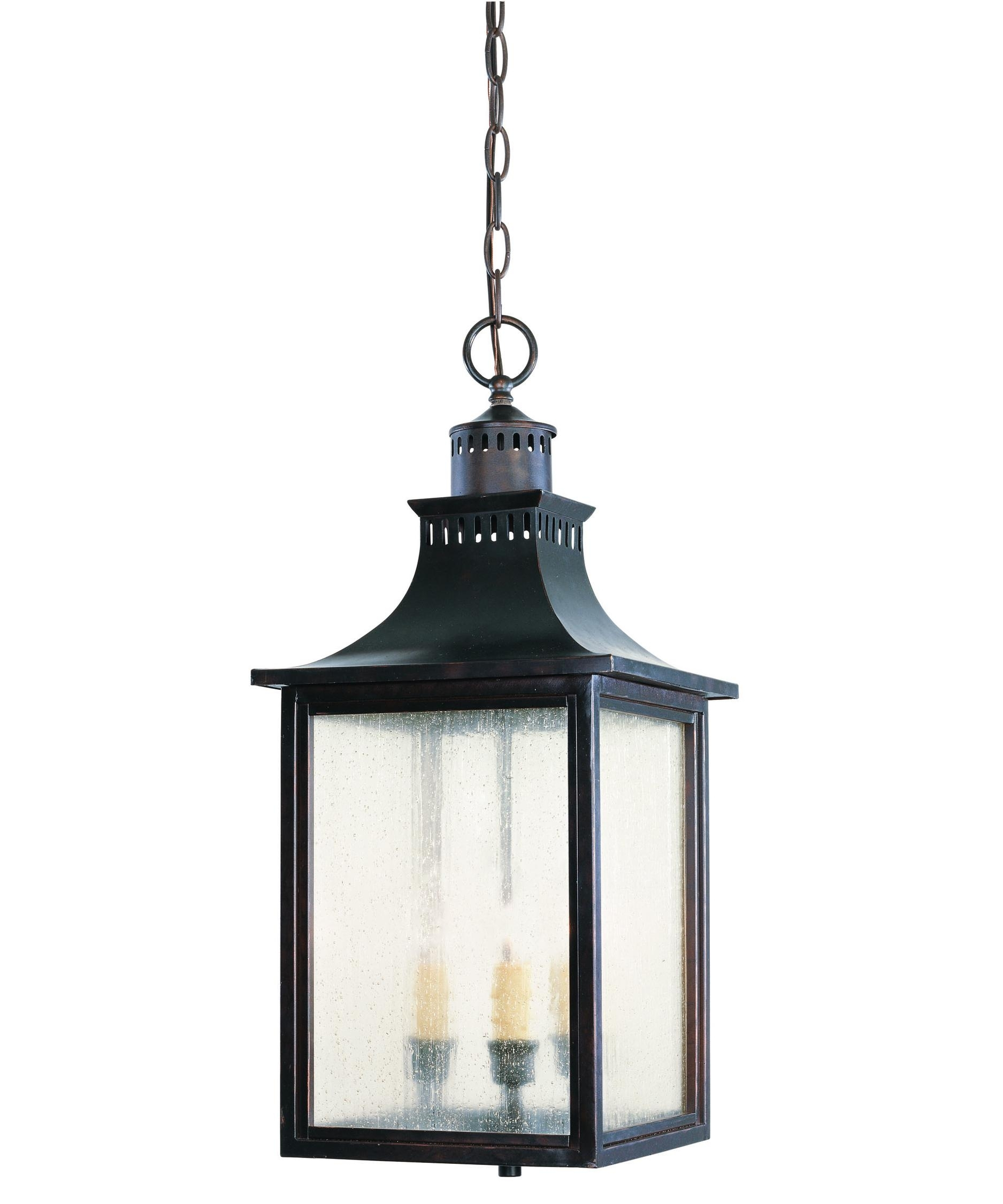 Savoy House 5-256 Monte Grande 10 Inch Wide 3 Light Outdoor Hanging with Outdoor Pendant Lanterns (Image 15 of 20)