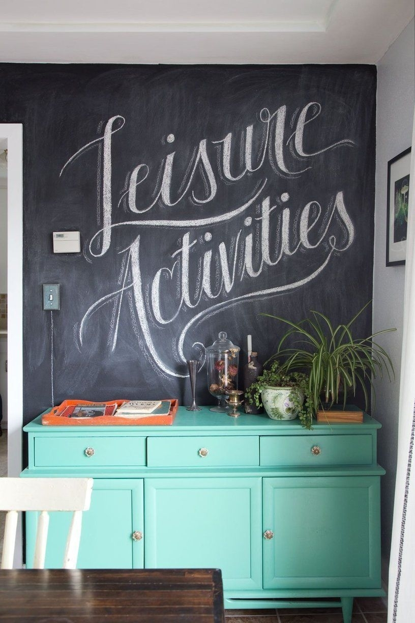 Scott And Jacqui's Artistic Homestead | Pinterest | Chalkboard Wall intended for Chalkboard Wall Art (Image 18 of 20)