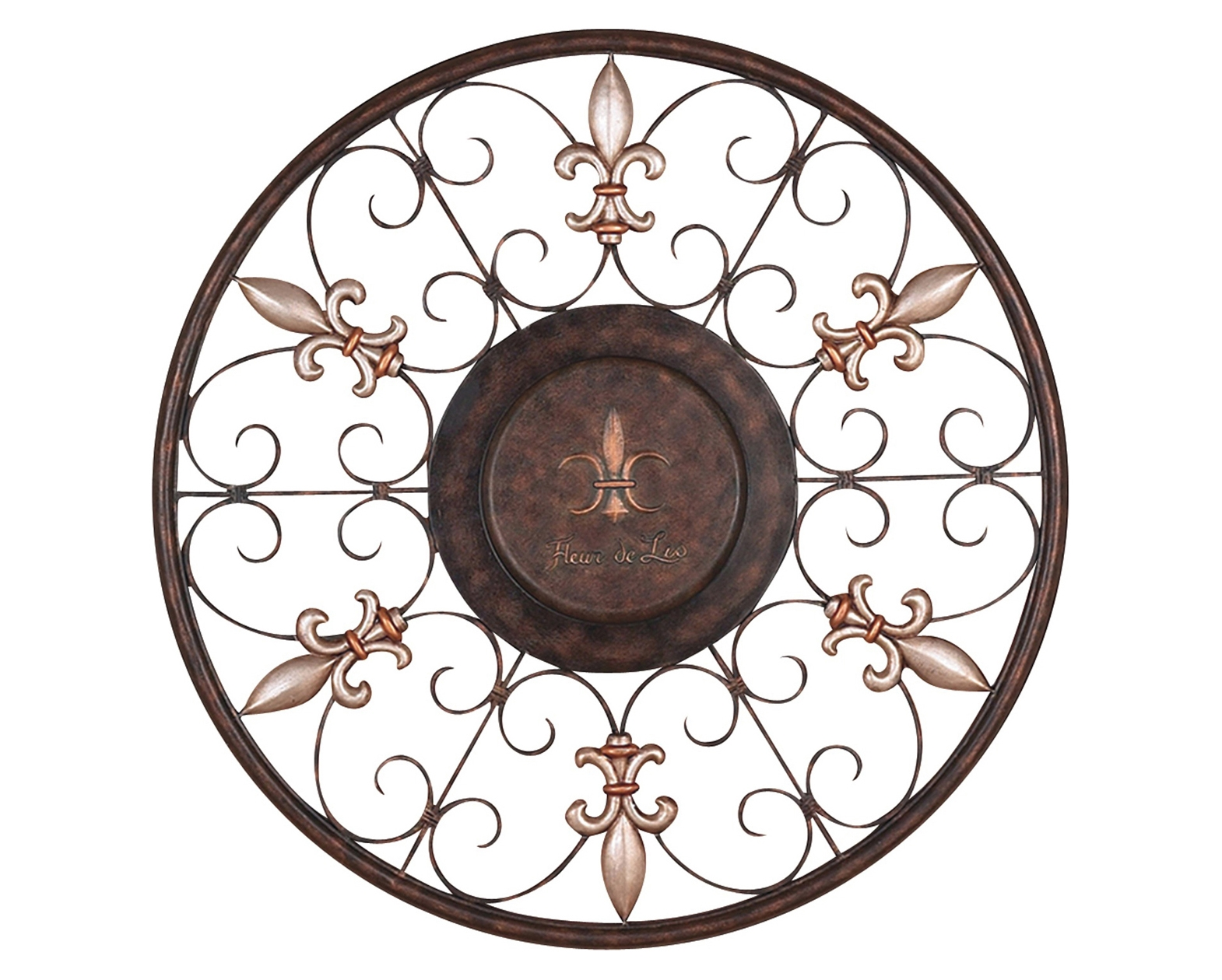 Scroll Design Iron Wall Art pertaining to Iron Wall Art (Image 14 of 20)
