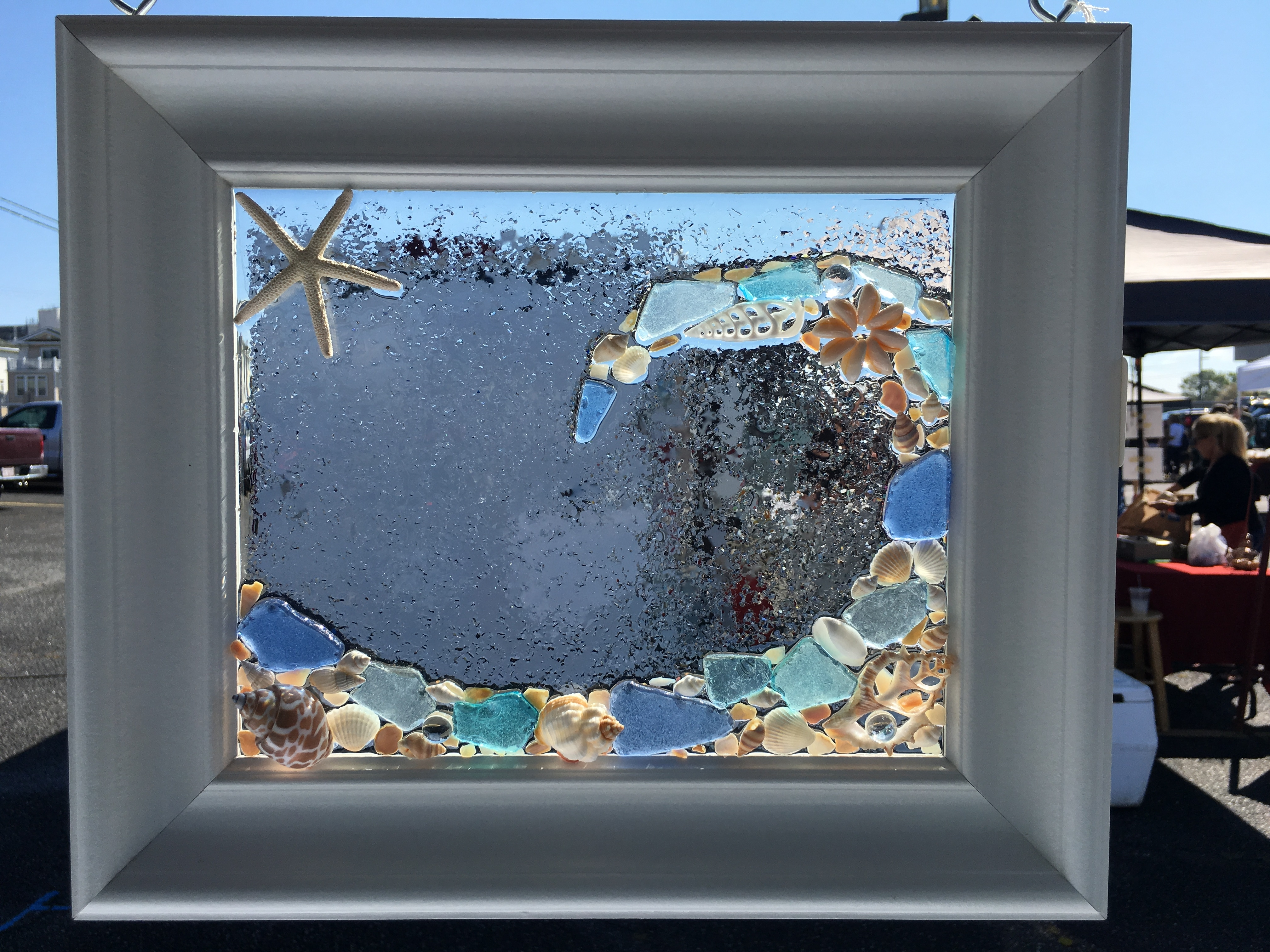 Sea Glass Wall Art Class – 5/15/18 – Virginia Beach Beads Pertaining To Sea Glass Wall Art (View 14 of 20)