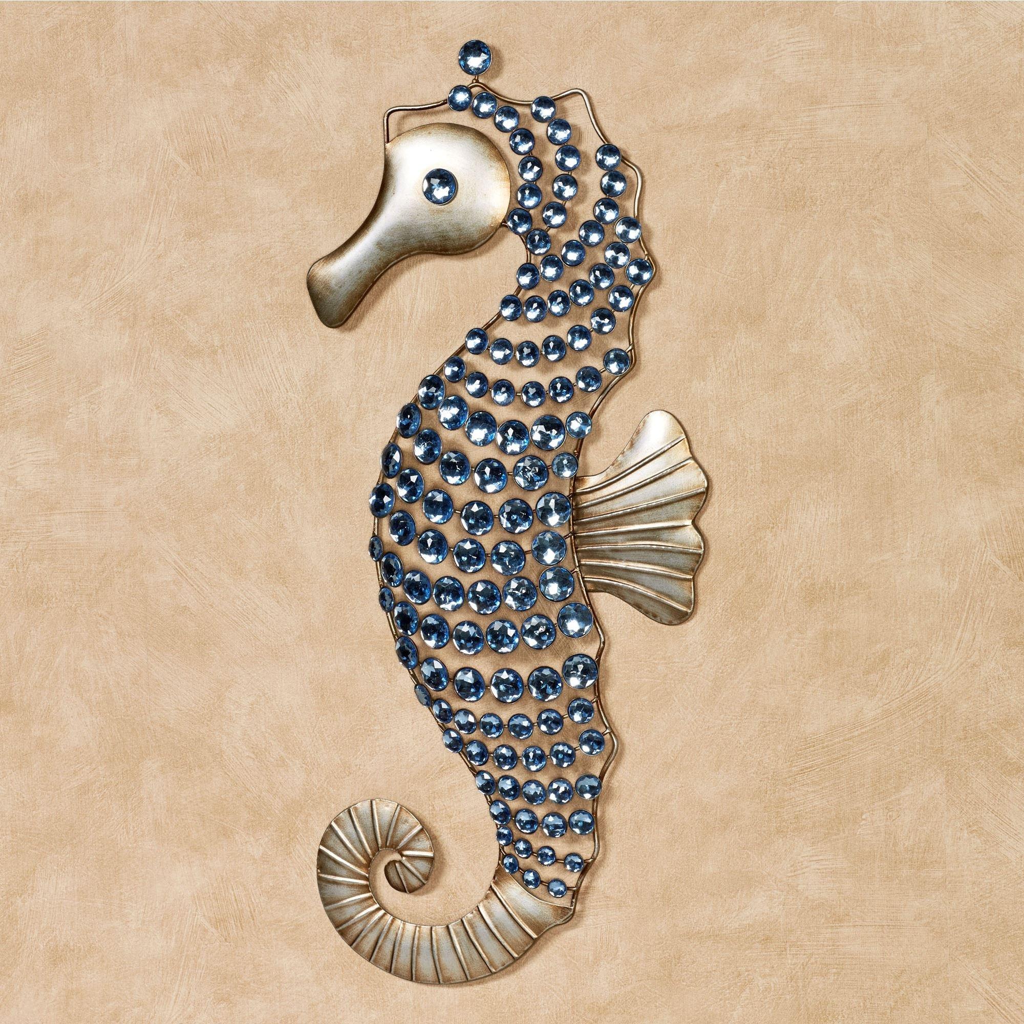 Sea Life Mural Metal Wall Art Blue Collar Welding Llc Remarkable regarding Sea Life Wall Art (Image 15 of 20)