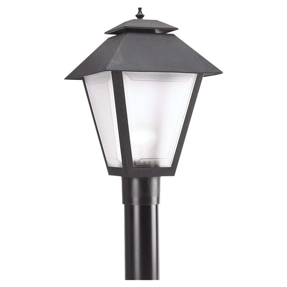 Seagull Lighting 82065-12 Polycarbonate Outdoor One Light Outdoor pertaining to Outdoor Lamp Lanterns (Image 19 of 20)