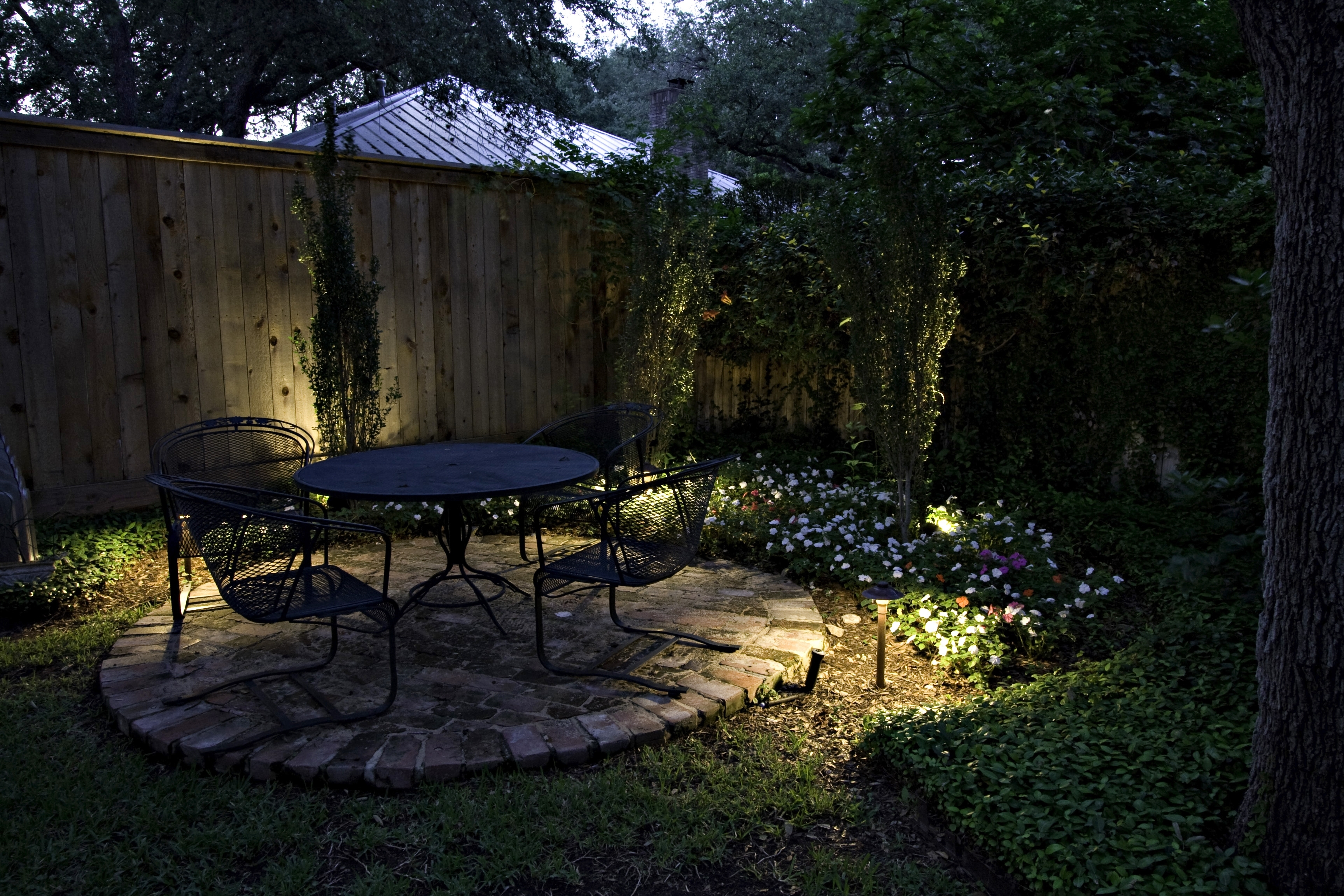 Seattle Patio Lighting And Deck Lighting with regard to Outdoor Yard Lanterns (Image 18 of 20)