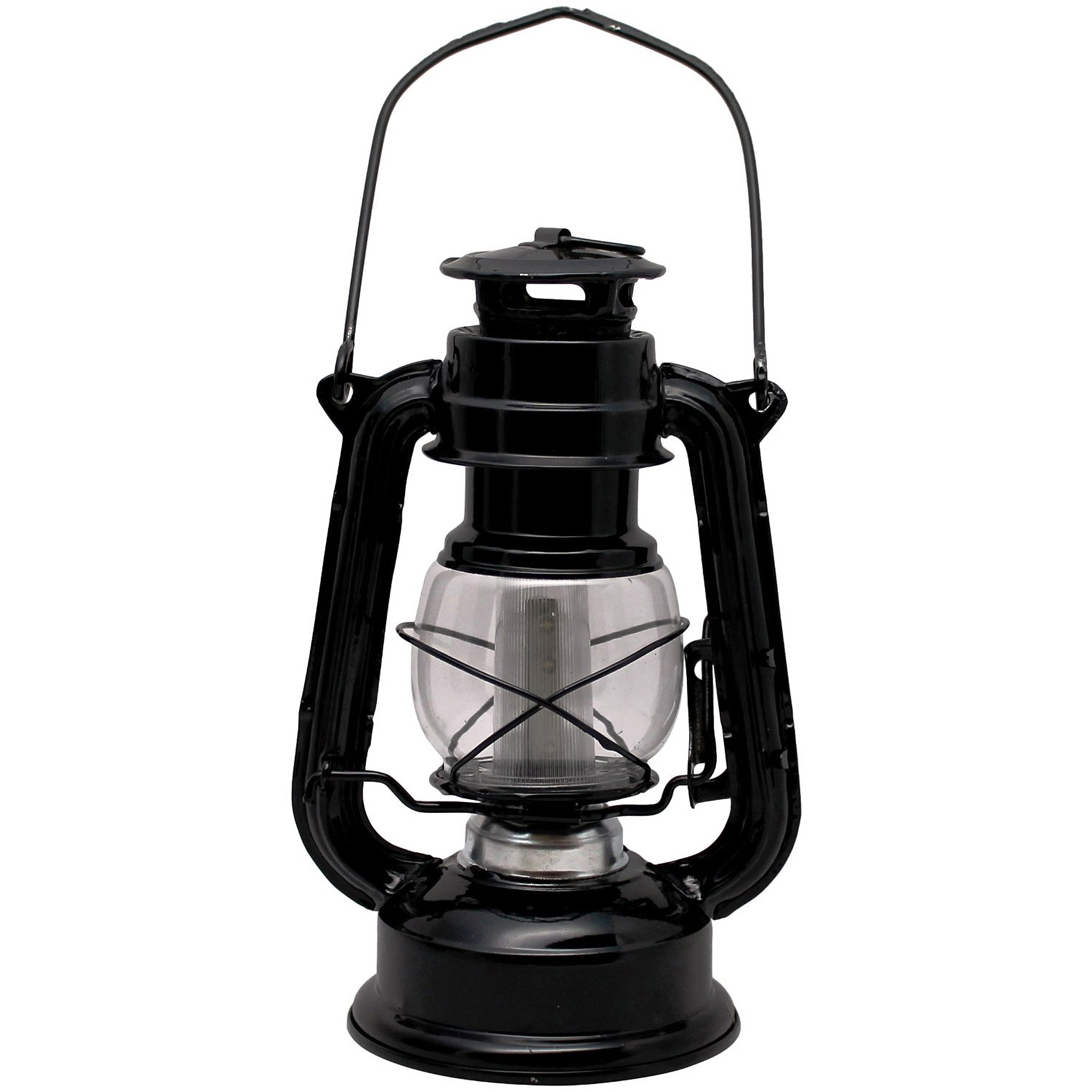 Sentry Railroad 12-Led Lantern, Black - Walmart inside Outdoor Railroad Lanterns (Image 18 of 20)