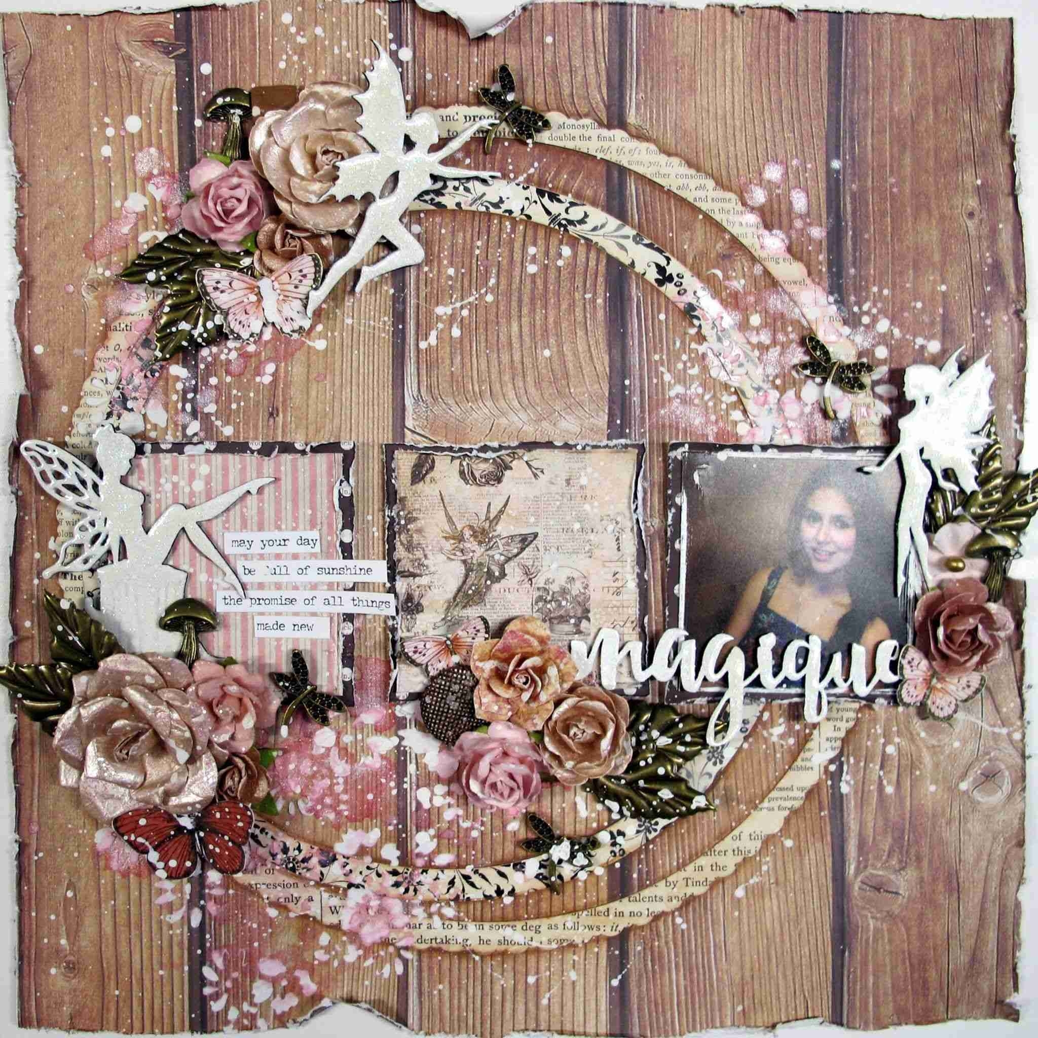 Shabby Chic Decor, Bedroom Romantic Wall Art Wreath, Vintage - Super within Shabby Chic Wall Art (Image 9 of 20)