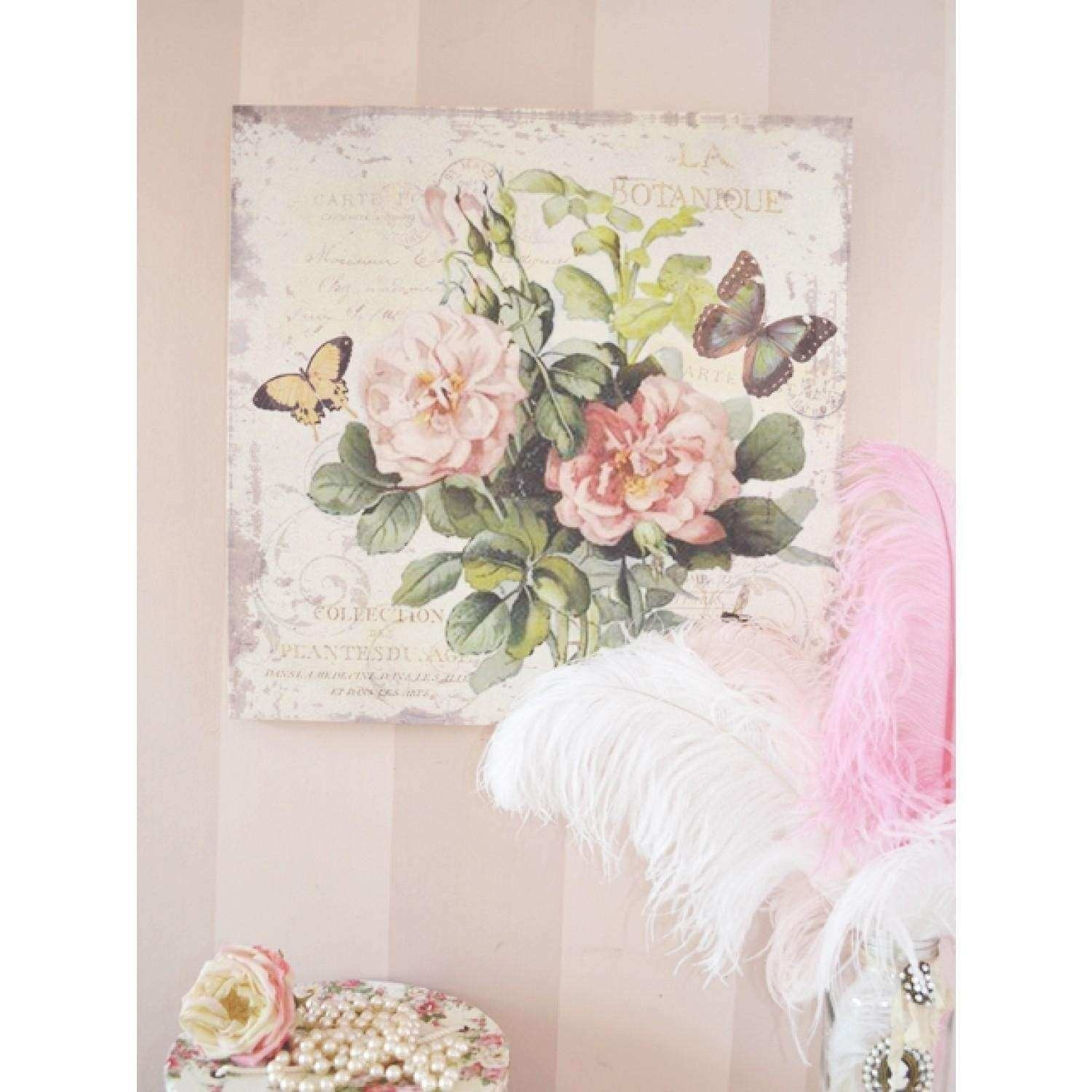 Shabby Chic Wall Art Inspirational 20 Ideas Of Shabby Chic Wall Art for Shabby Chic Wall Art (Image 13 of 20)