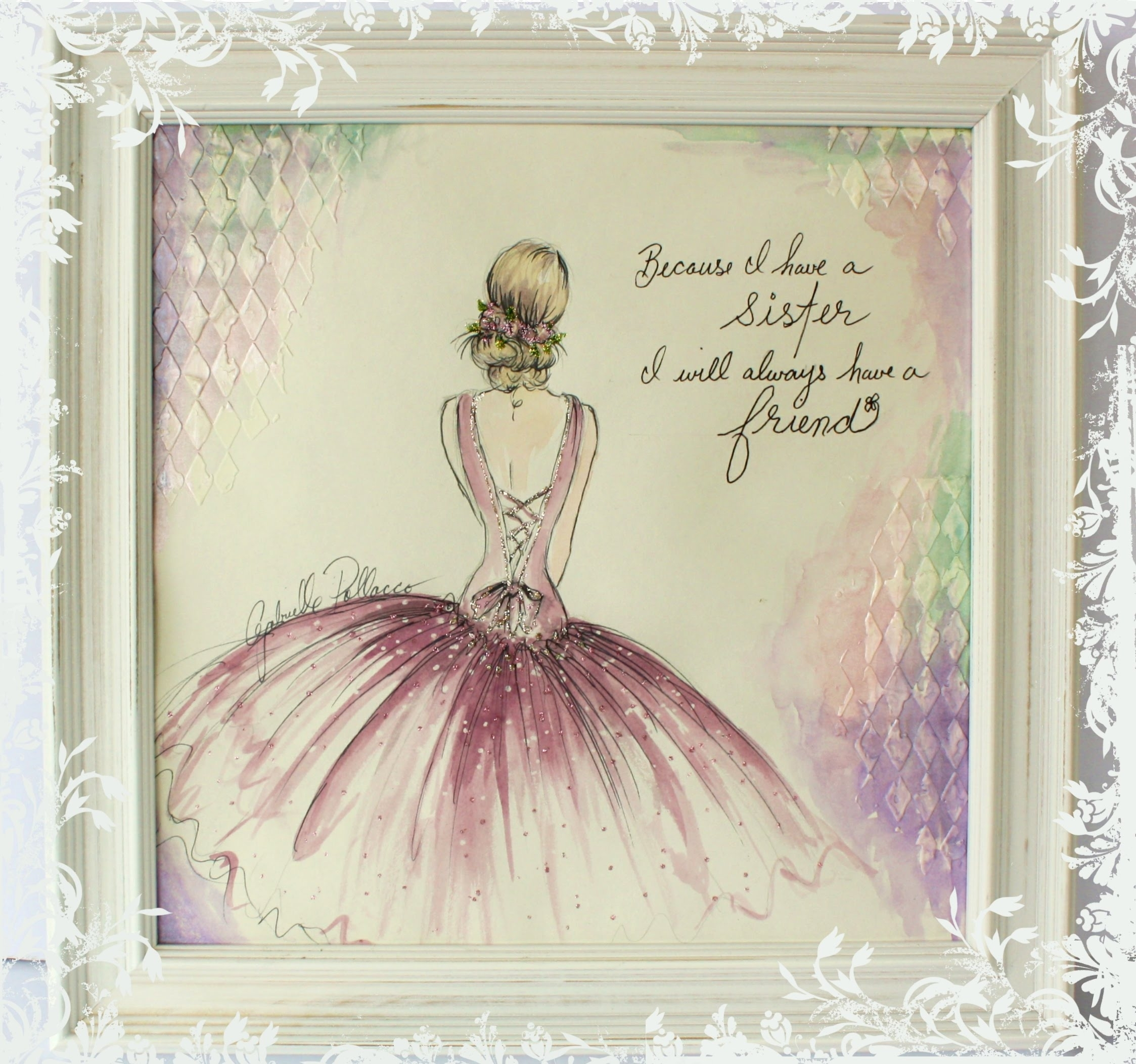Shabby Chic Wall Art - Youtube with regard to Shabby Chic Wall Art (Image 11 of 20)