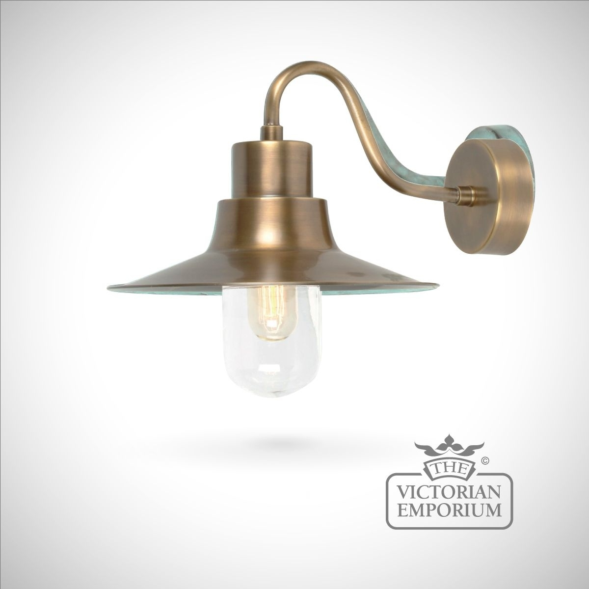 Sheldon Wall Lantern – Brass   Outdoor Wall Lights With Victorian Outdoor Lanterns (View 13 of 20)