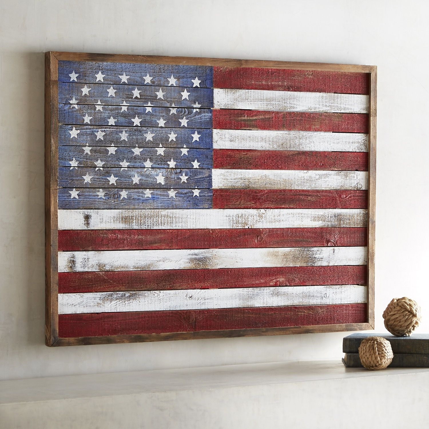 Shiplap American Flag Wall Decor | Products | Pinterest | Wall Decor intended for American Flag Wall Art (Image 17 of 20)