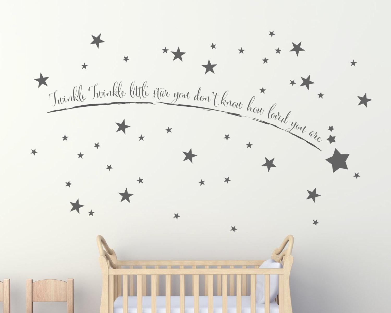 Shooting Star Wall Art – Wall Art Stickers – Wall Art – Wall Throughout Wall Art Stickers (View 6 of 20)