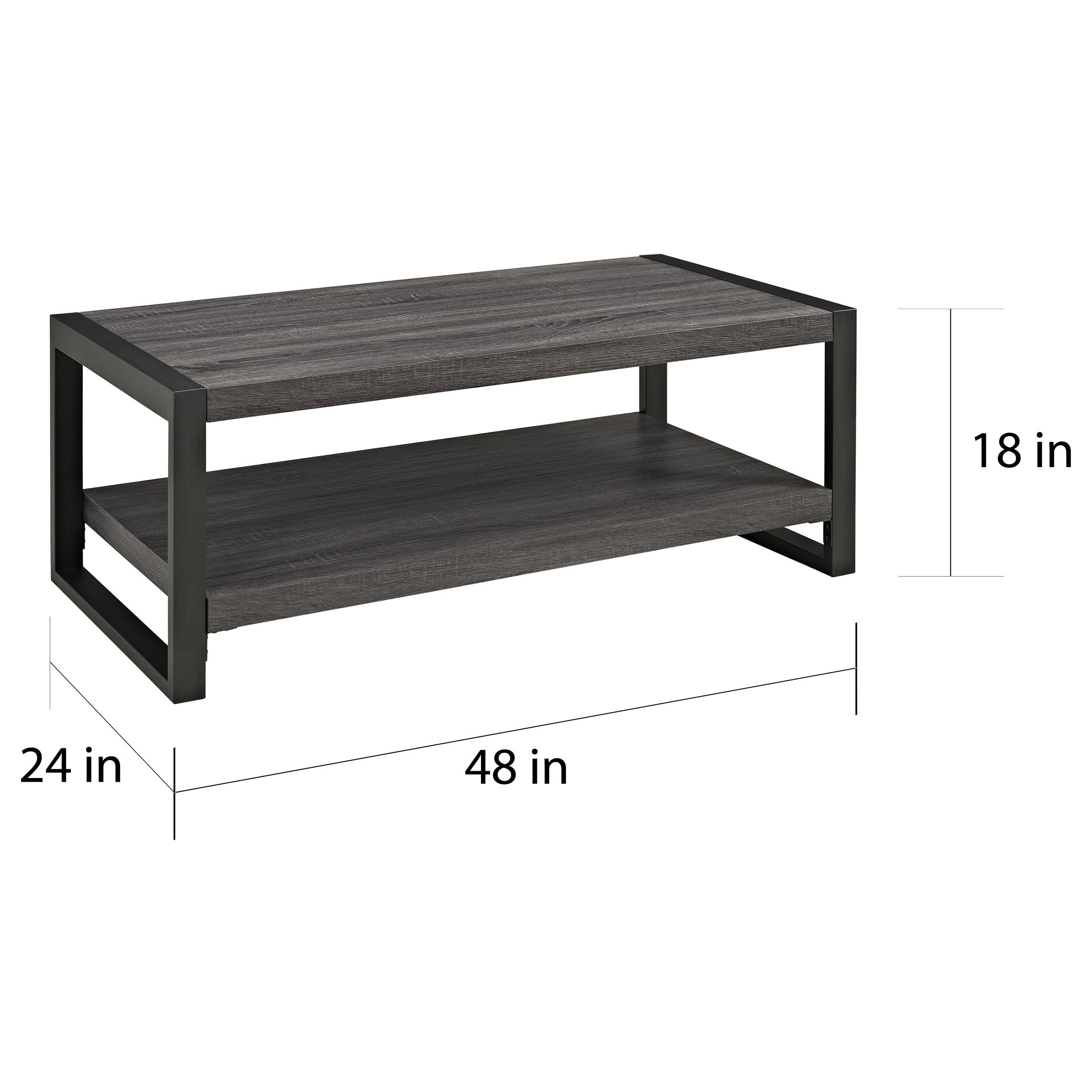 "Shop Angelo:home 48-Inch Coffee Table - On Sale - Free Shipping in Chevron 48"" Coffee Tables (Image 6 of 9)"
