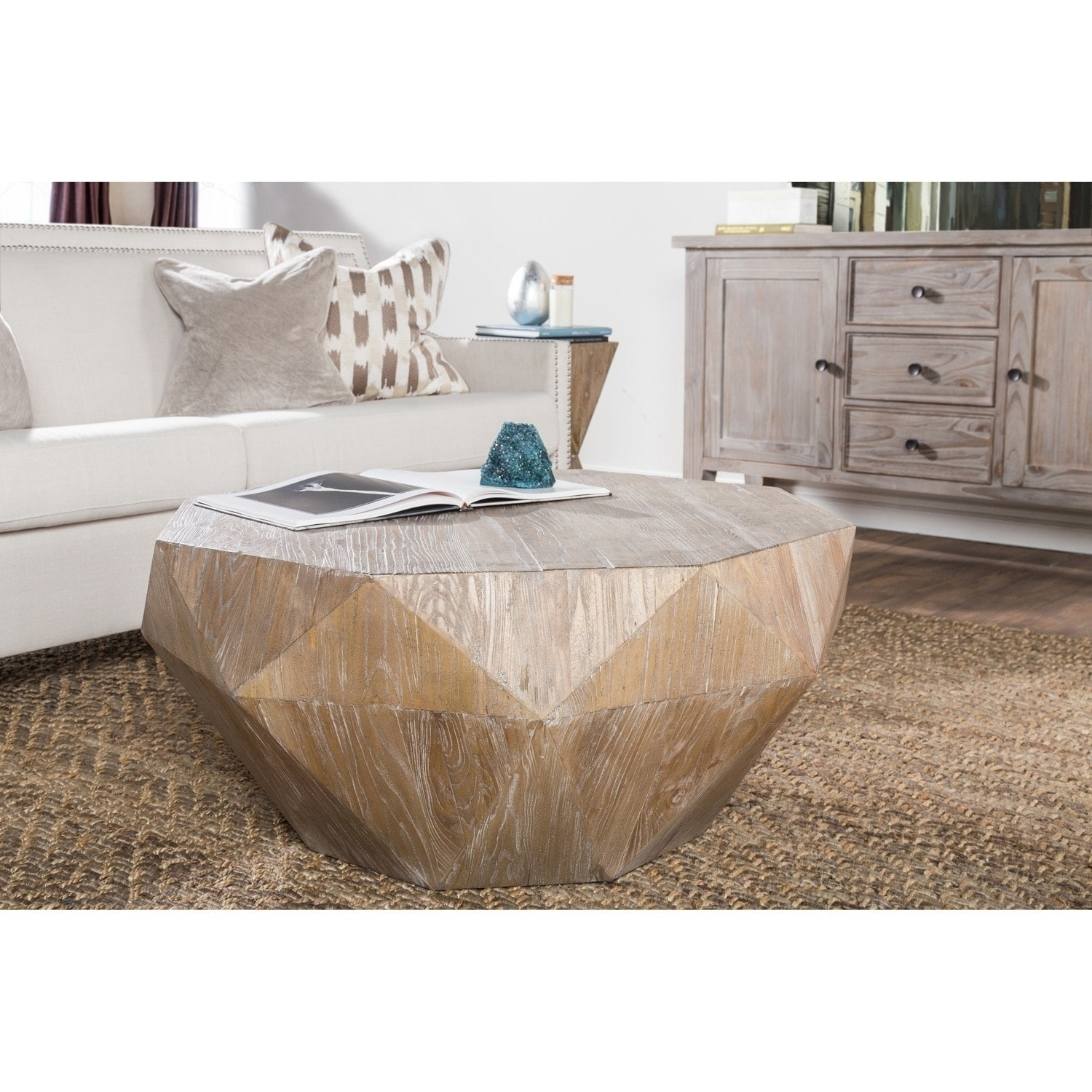 Shop Casablanca Natural Reclaimed Wood Coffee Tablekosas Home With Casablanca Coffee Tables (View 9 of 30)