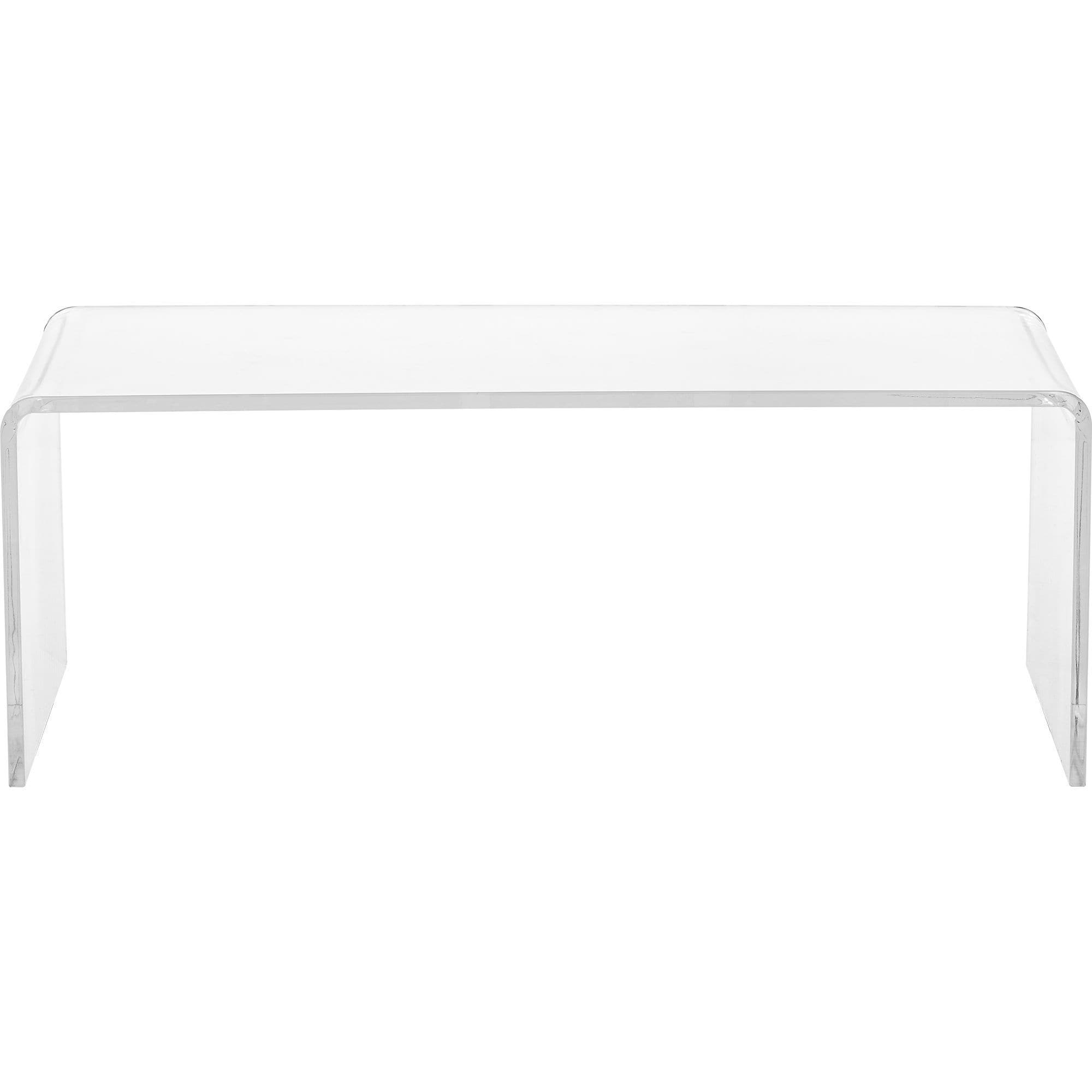 Shop Clear Acrylic Coffee Table - On Sale - Free Shipping Today regarding Peekaboo Acrylic Coffee Tables (Image 27 of 30)