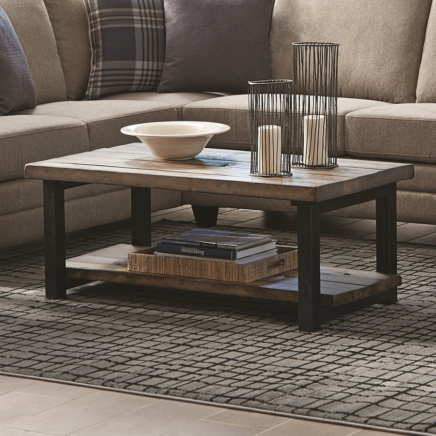 Shop Coffee Tables At Lowes throughout Oslo Burl Wood Veneer Coffee Tables (Image 30 of 30)