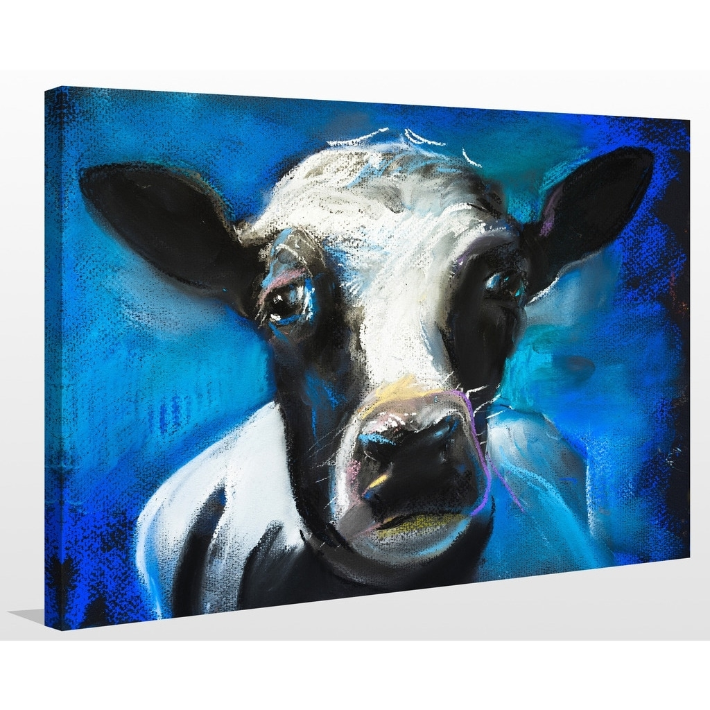 """Shop """"cow Face"""" Giclee Print Canvas Wall Art – On Sale – Free With Regard To Cow Canvas Wall Art (View 17 of 20)"""