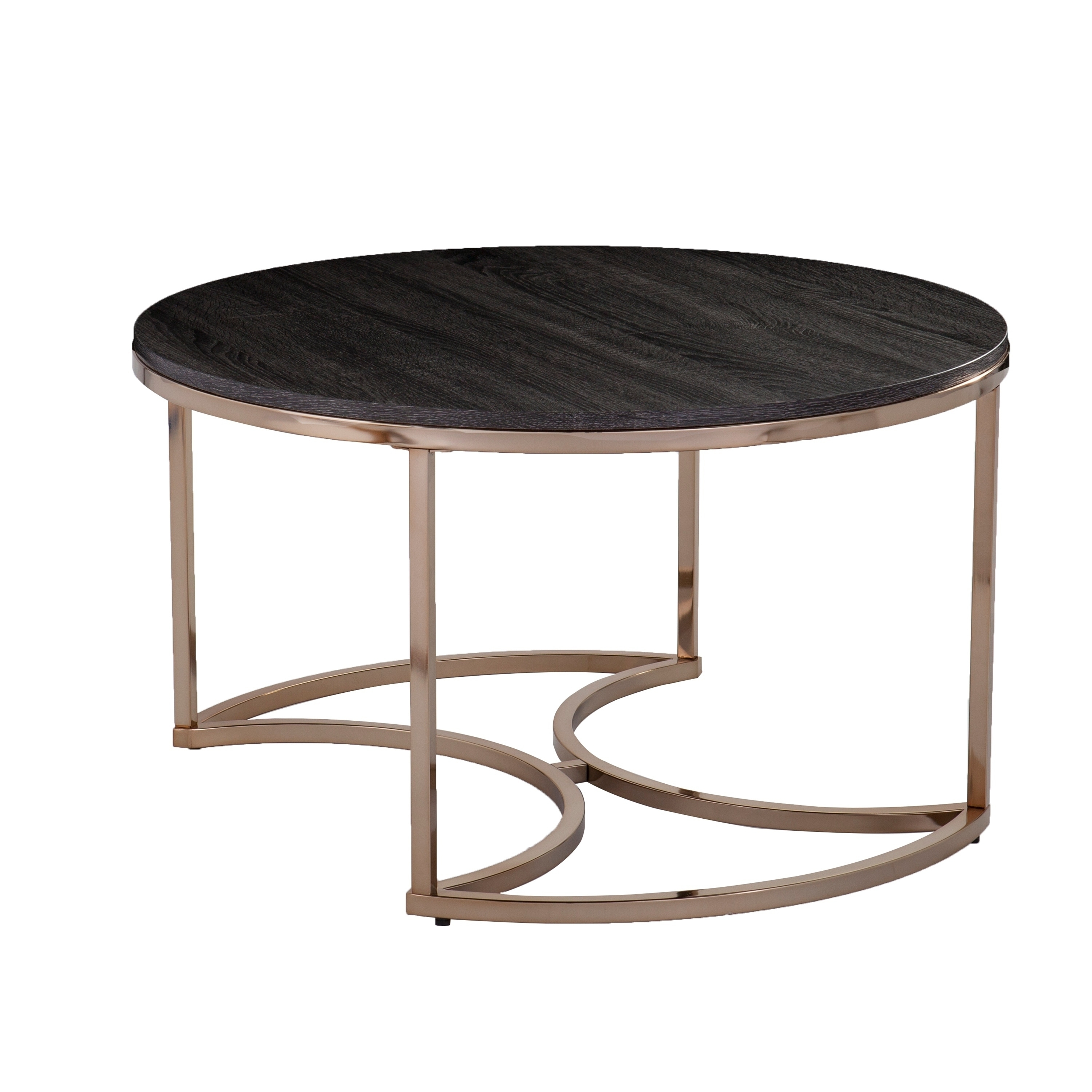 Shop Harper Blvd Belle Round Nesting Coffee Tables – 3Pc Set – Free Pertaining To Set Of Nesting Coffee Tables (View 26 of 30)