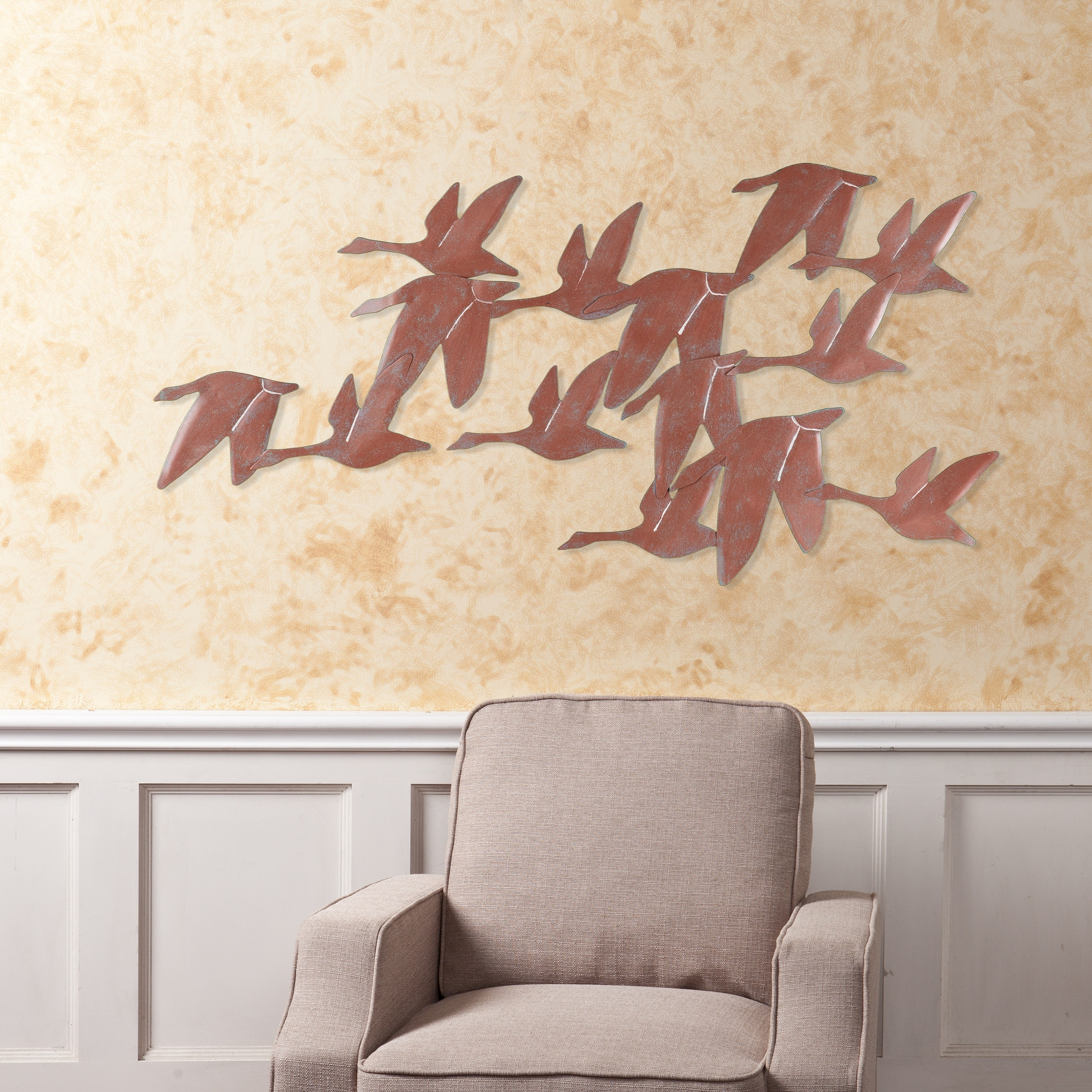 Shop Harper Blvd Flock Of Geese Wall Art - Free Shipping On Orders for Overstock Wall Art (Image 9 of 20)
