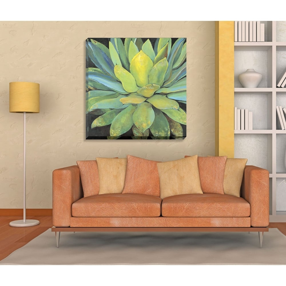 Shop Havenside Home Portfolio Canvas Decor 'agave' Large Printed intended for Overstock Wall Art (Image 11 of 20)