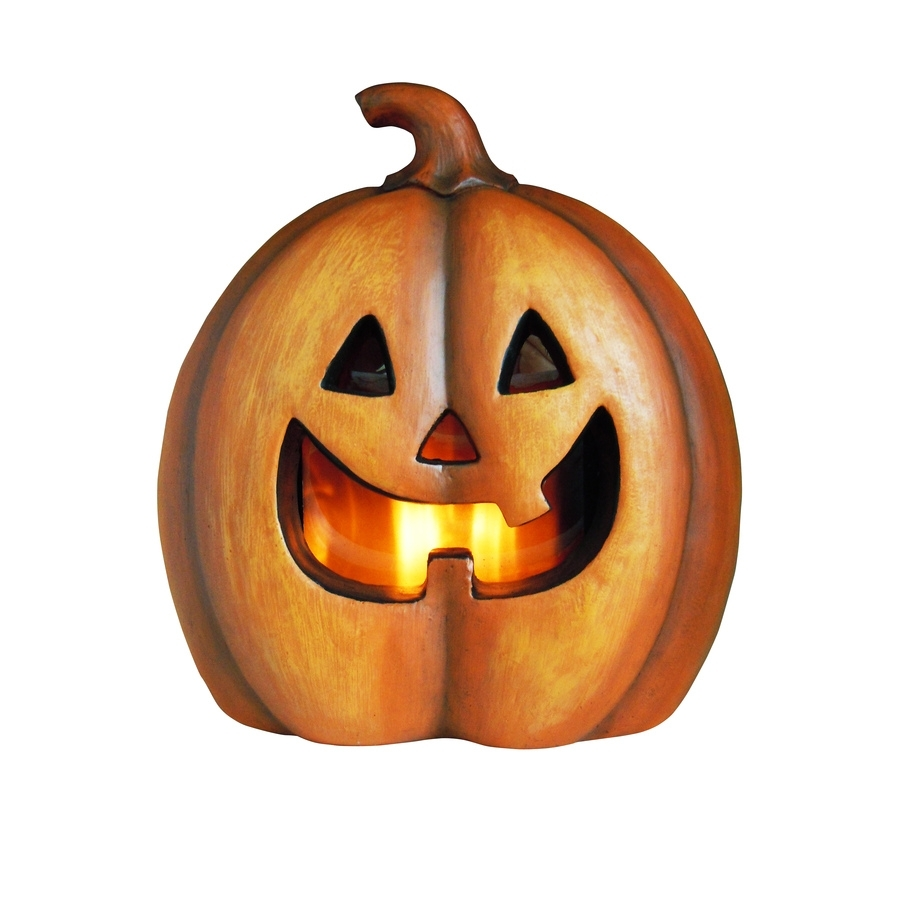 Shop Holiday Living Pre-Lit Freestanding Jack-O-Lantern Greeter With with Outdoor Pumpkin Lanterns (Image 16 of 20)