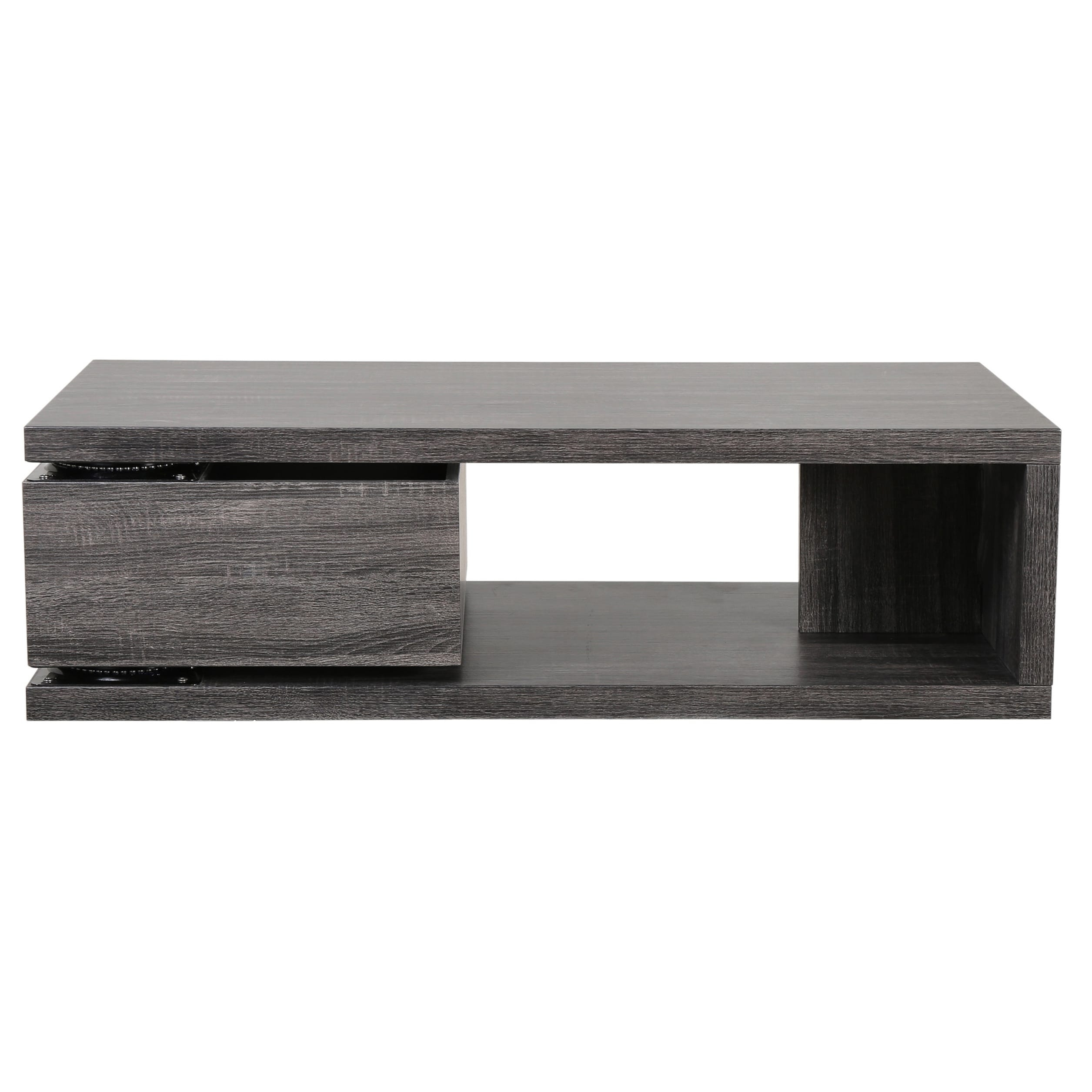 Shop Jack Rectangular Rotating Wood Coffee Tablechristopher throughout Spin Rotating Coffee Tables (Image 23 of 30)