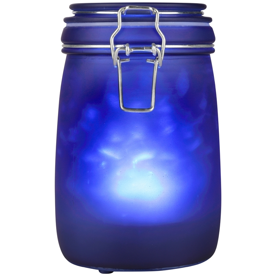 Shop Outdoor Decorative Lanterns At Lowes pertaining to Blue Outdoor Lanterns (Image 18 of 20)