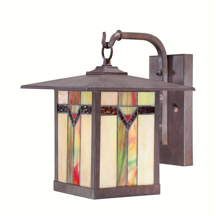 Shop Outdoor Wall Lights At Lowes for Antique Outdoor Lanterns (Image 18 of 20)