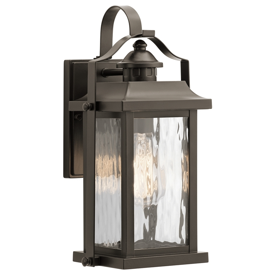 Shop Outdoor Wall Lights At Lowes inside Outdoor Wall Lanterns (Image 16 of 20)