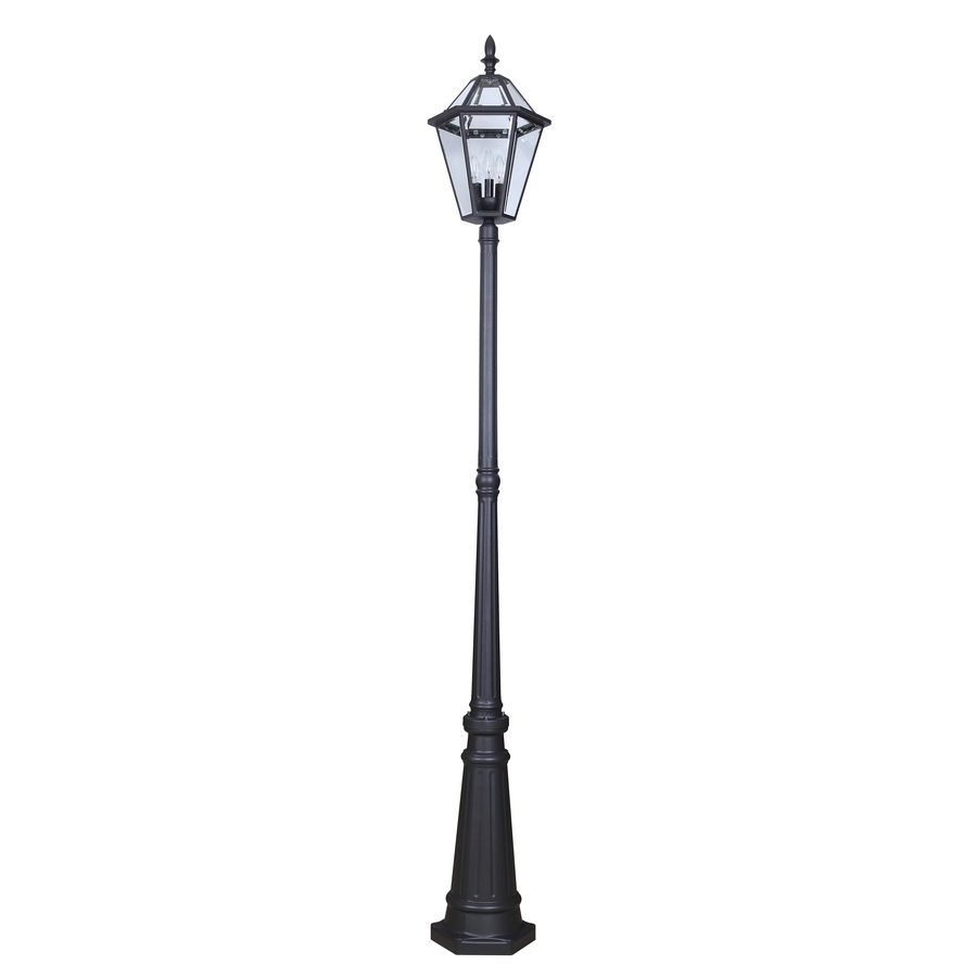 Shop Post Lighting At Lowes for Outdoor Pole Lanterns (Image 19 of 20)