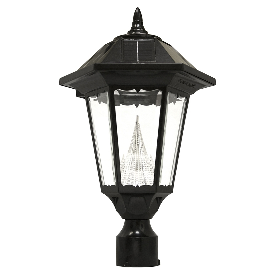 Shop Post Lighting At Lowes with Outdoor Lanterns For Posts (Image 14 of 20)