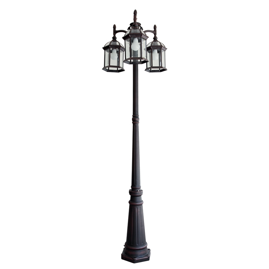 Shop Post Lighting At Lowes with regard to Outdoor Pole Lanterns (Image 20 of 20)