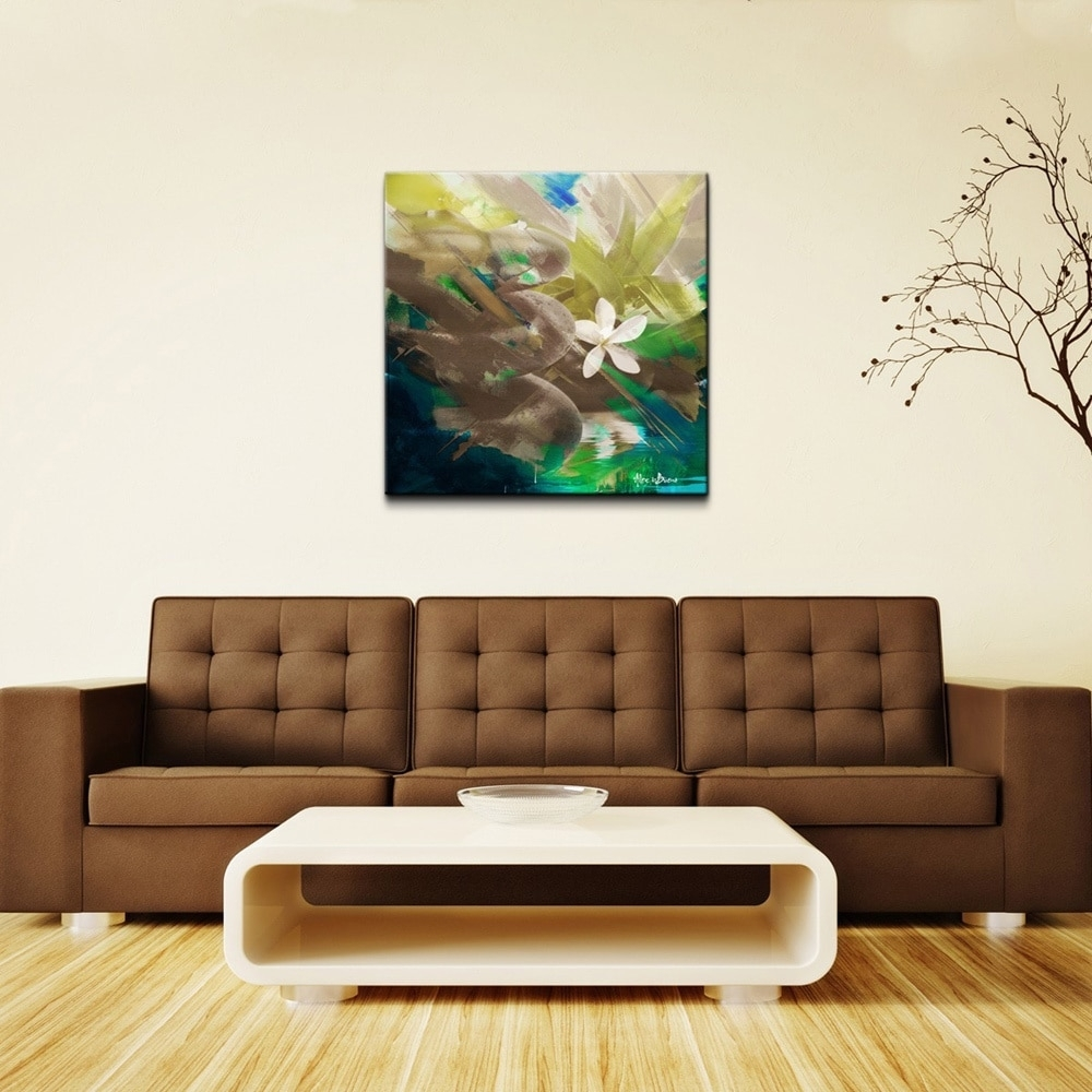 Shop Ready2Hangart 'abstract Stone Spa Ii' Oversized Canvas Wall Art with Abstract Oversized Canvas Wall Art (Image 19 of 20)