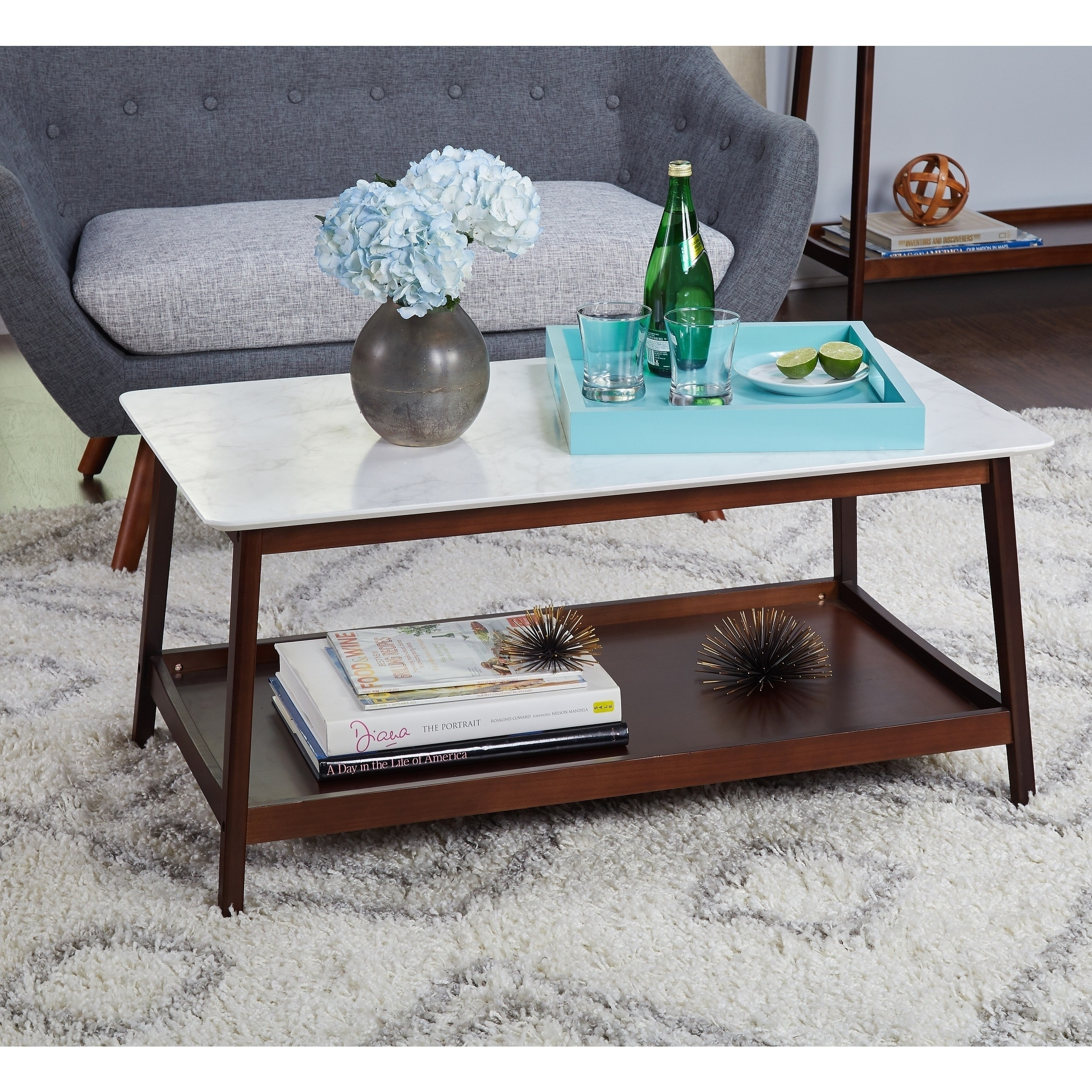 Shop Simple Living Jhovies Coffee Table - On Sale - Free Shipping pertaining to Element Ivory Rectangular Coffee Tables (Image 26 of 30)