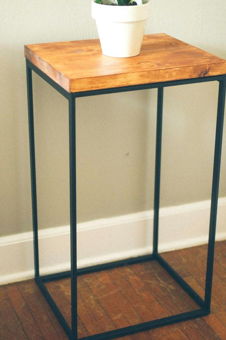 Side Table ~ Wood Metal Side Table Furniture And End Tables Fresh intended for Fresh Cut Side Tables (Image 23 of 30)