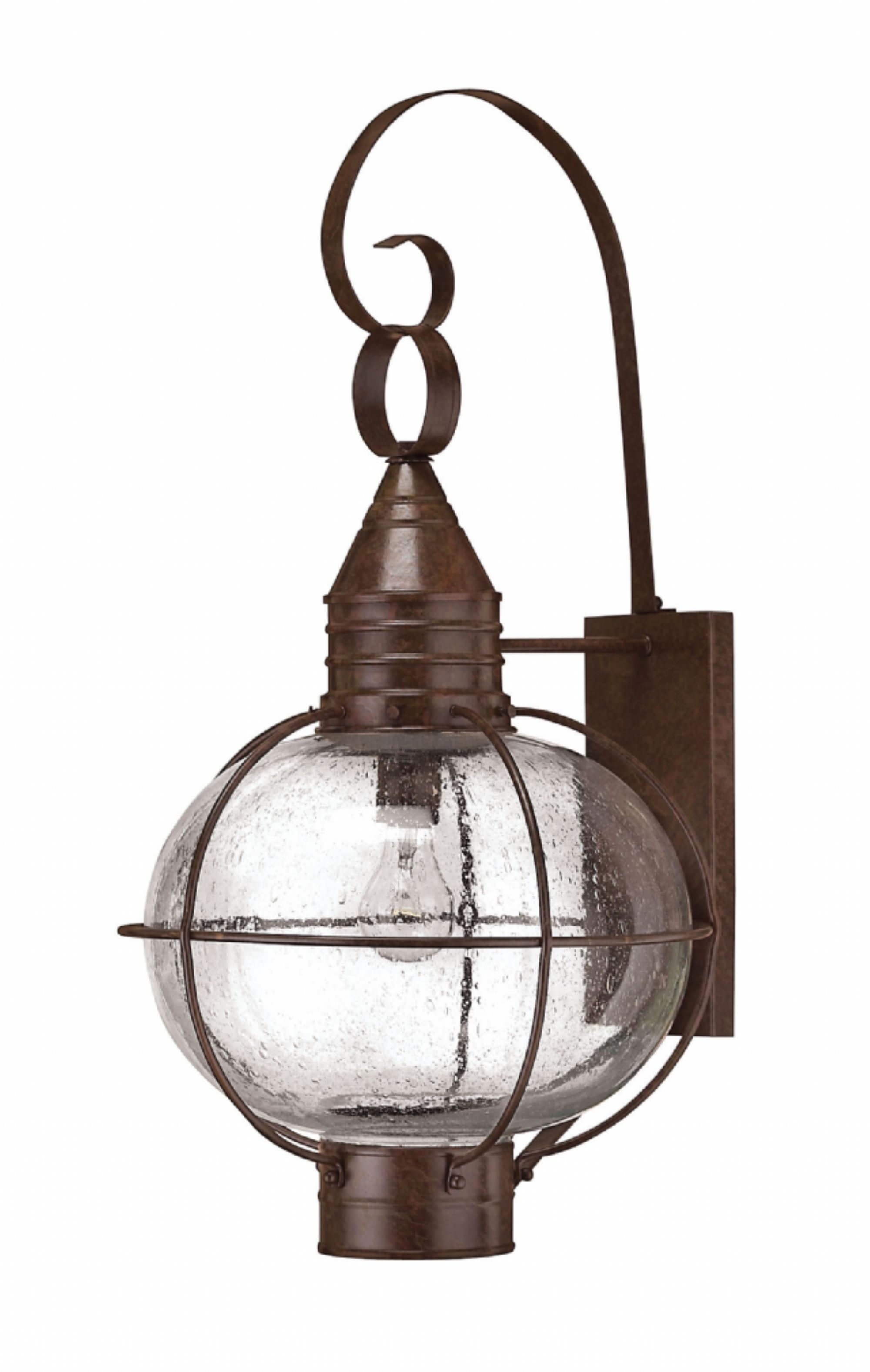 Sienna Bronze Cape Cod > Exterior Wall Mount for Outdoor Lighting Onion Lanterns (Image 17 of 20)