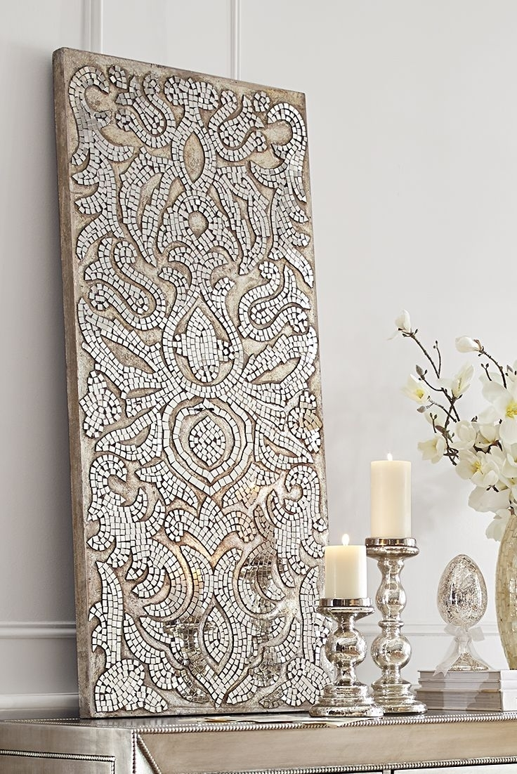 Simple Mirror Mosaic Wall Art : Andrews Living Arts – Mirror Mosaic Intended For Mosaic Wall Art (View 14 of 20)