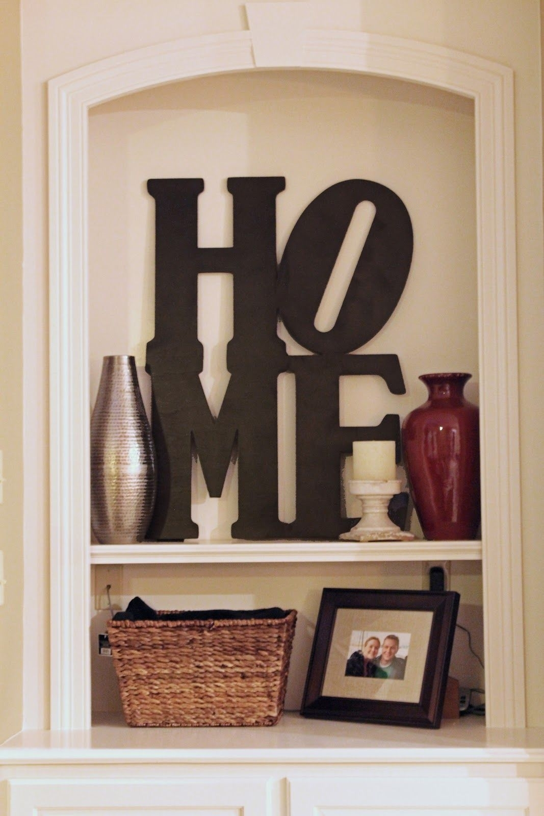"Simply Sarah: Pottery Barn Inspired ""home"" Wall Art 