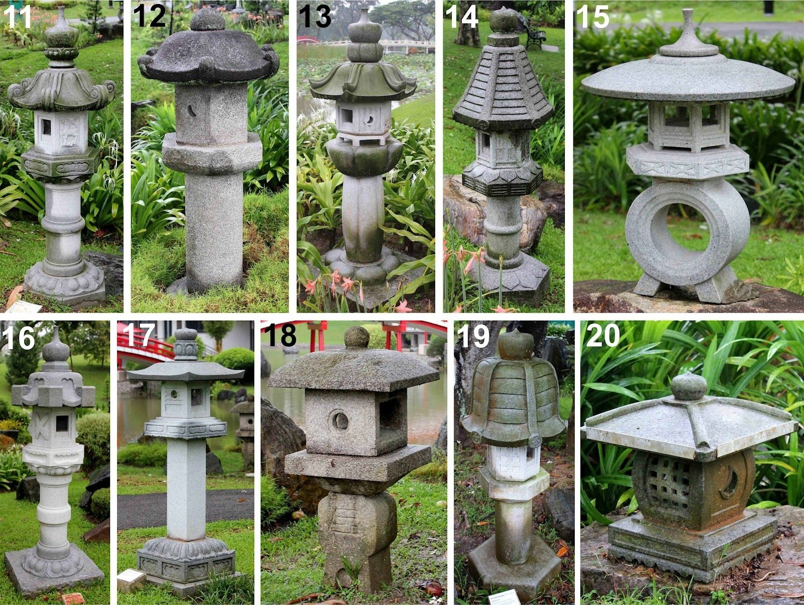 Singapore Japanese Garden Is Located Right Next To The Chinese throughout Outdoor Japanese Lanterns For Sale (Image 19 of 20)