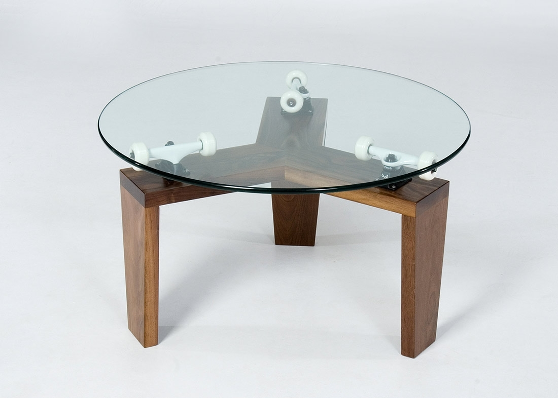 Skate Furniture | Stephen Christopher Wallace within Spin Rotating Coffee Tables (Image 25 of 30)