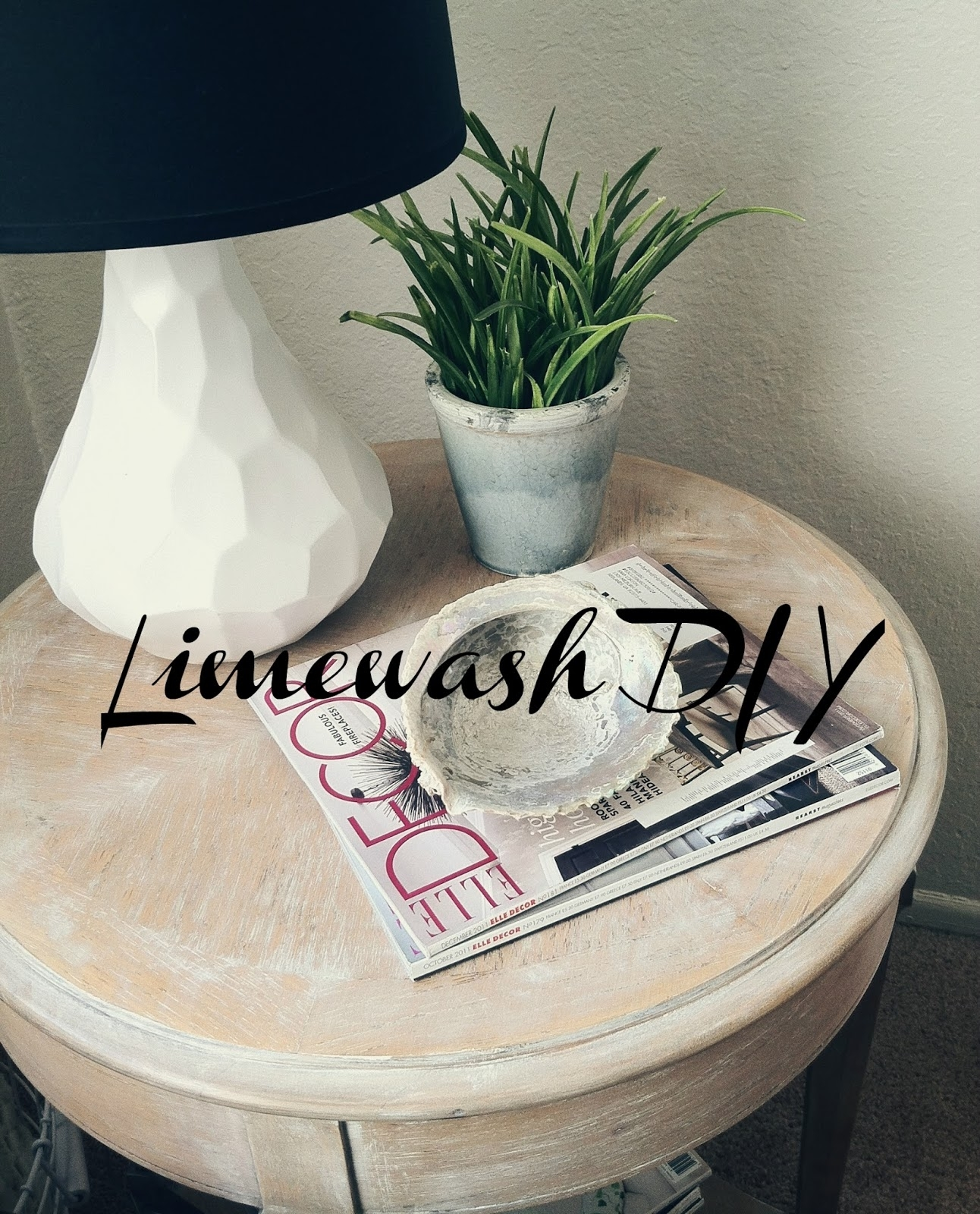 Sl Designs: Lime Wash Table Diy within Limewash Coffee Tables (Image 27 of 30)