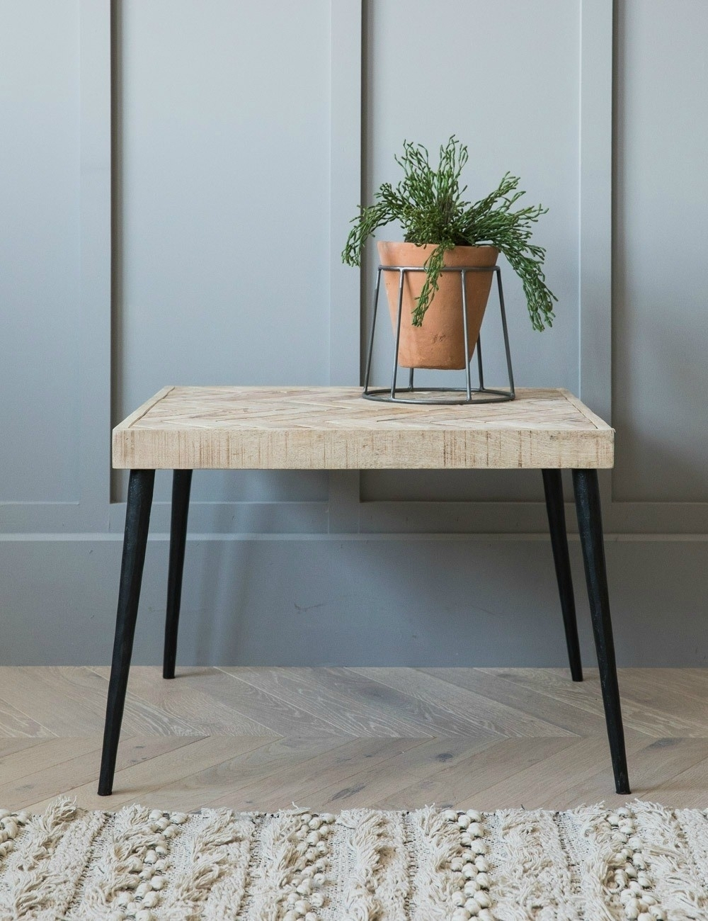 Small Parquet Coffee Table At Rose & Grey Pertaining To Parquet Coffee Tables (View 3 of 30)
