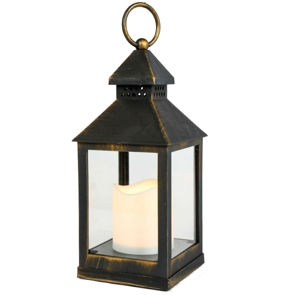 Smart Garden Kentish Battery Operated Outdoor Lantern Throughout Outdoor Lanterns With Battery Operated (View 19 of 20)