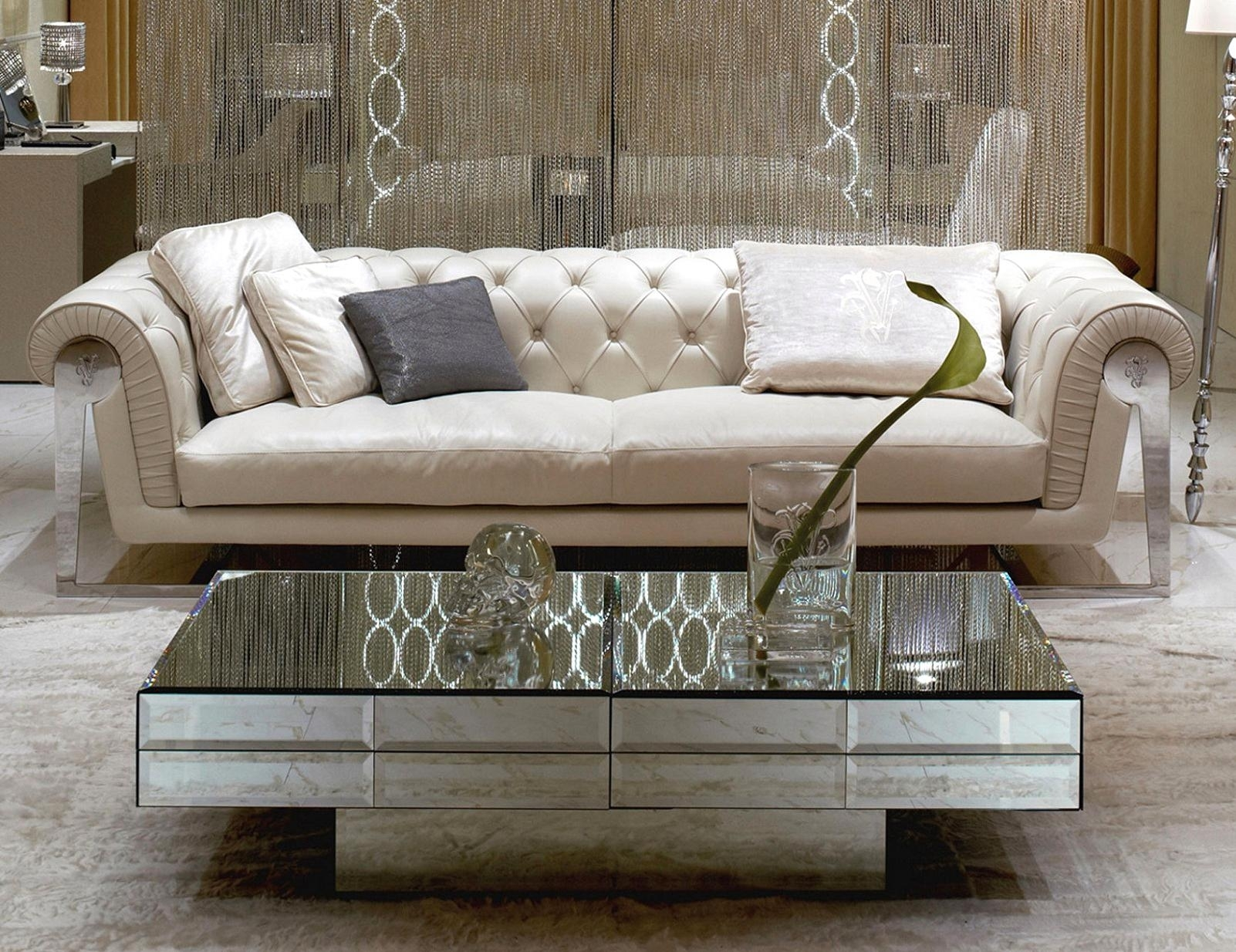 Smart Glass Top Mirrored Coffee Table Stainless Ideas Ow Profile Regarding Smart Glass Top Coffee Tables (View 25 of 30)