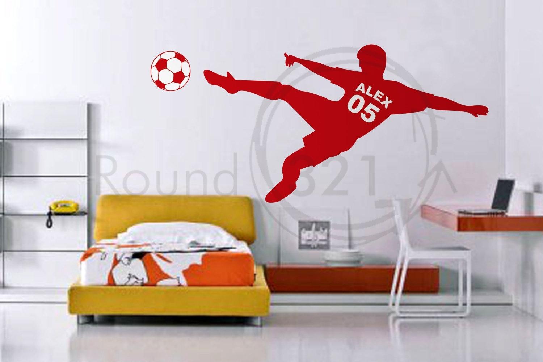 Soccer Wall Decor Ideas For Teen Boys Chipless Fashion, Soccer Wall Within Soccer Wall Art (View 18 of 20)