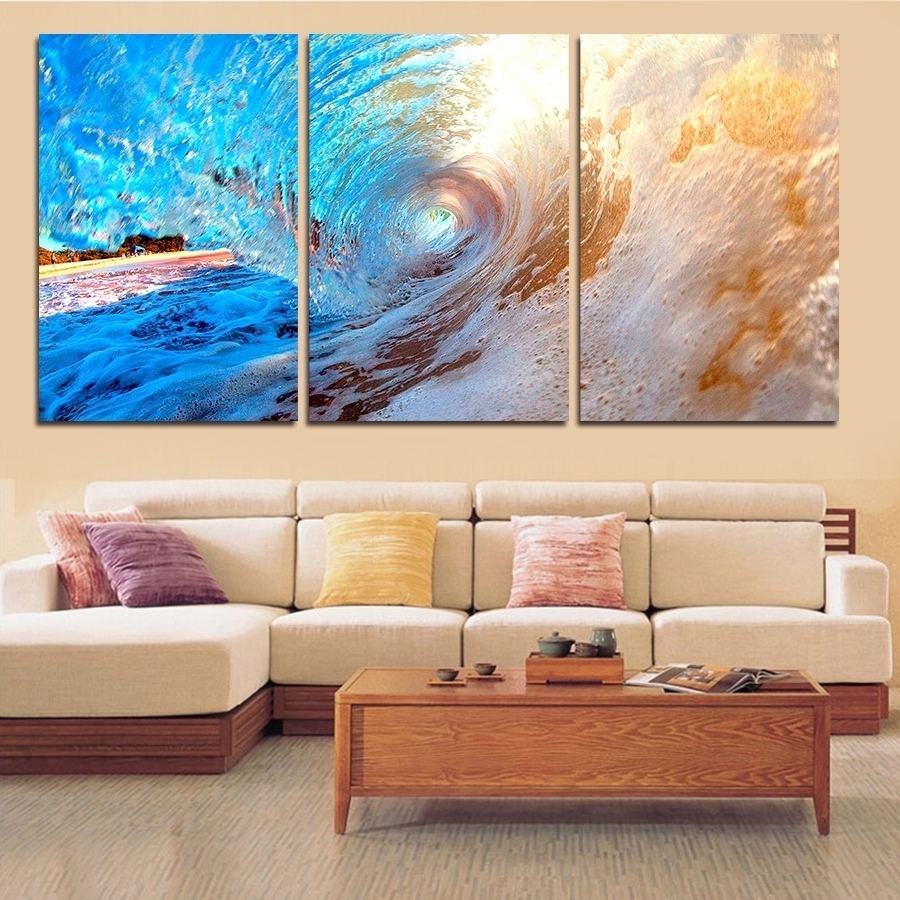 Sofa. Ocean Wall Art - Best Home Decoration Tips with regard to Ocean Wall Art (Image 19 of 20)