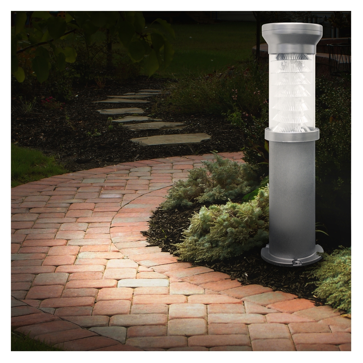 Solar Bollard Lights | Solar Path And Driveway Lights Gsg2-127Ez - 2 inside Outdoor Driveway Lanterns (Image 17 of 20)
