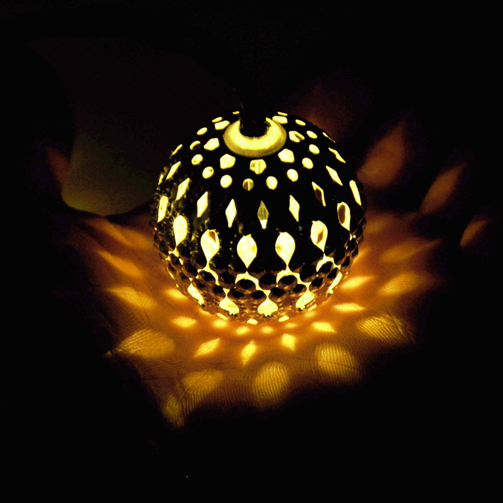 Solar Globes Outdoor Modern Home Led String Lights Moroccan Metal intended for Outdoor Ball Lanterns (Image 15 of 20)