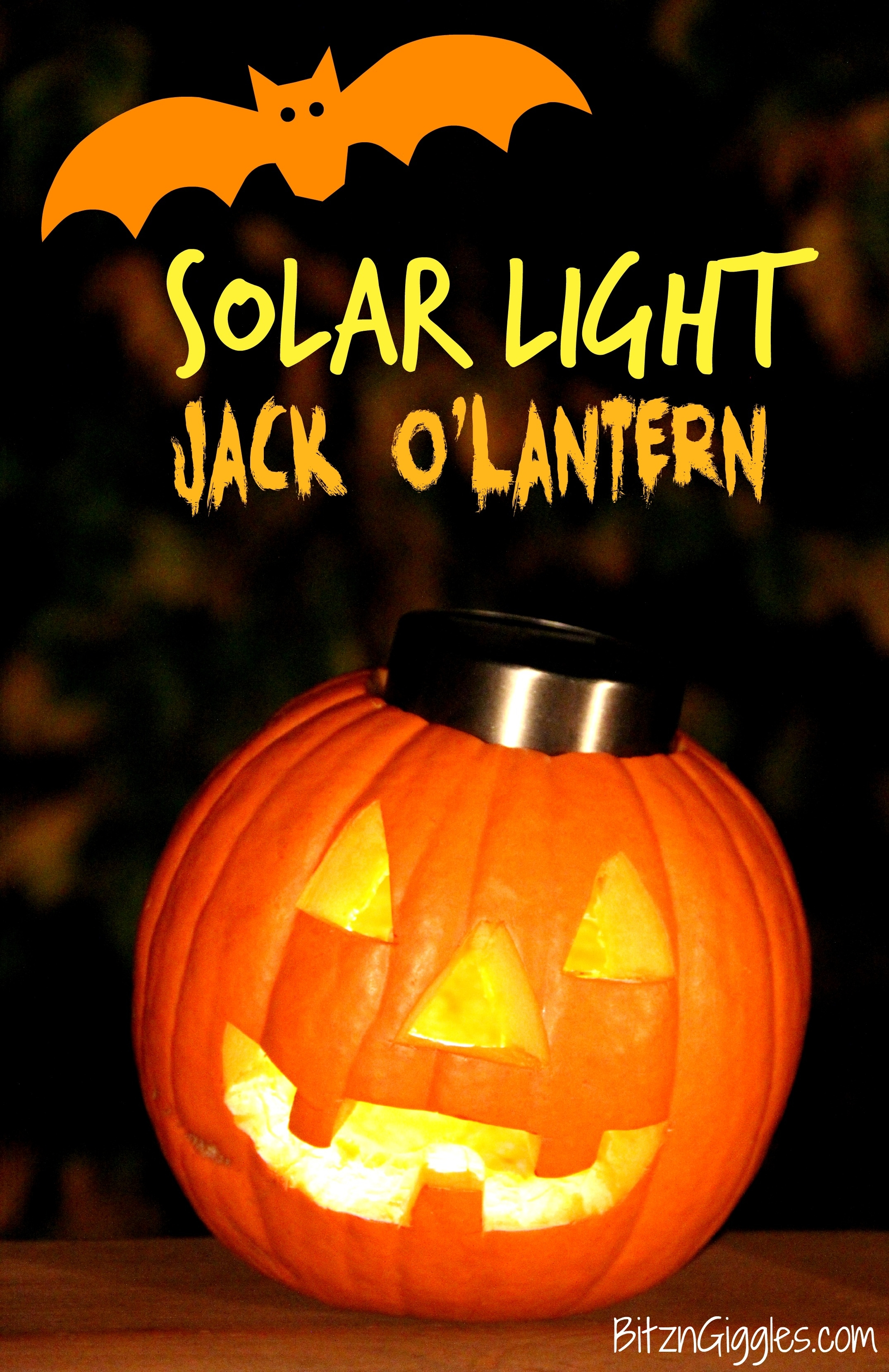 Solar Light Jack O'lantern for Outdoor Pumpkin Lanterns (Image 18 of 20)