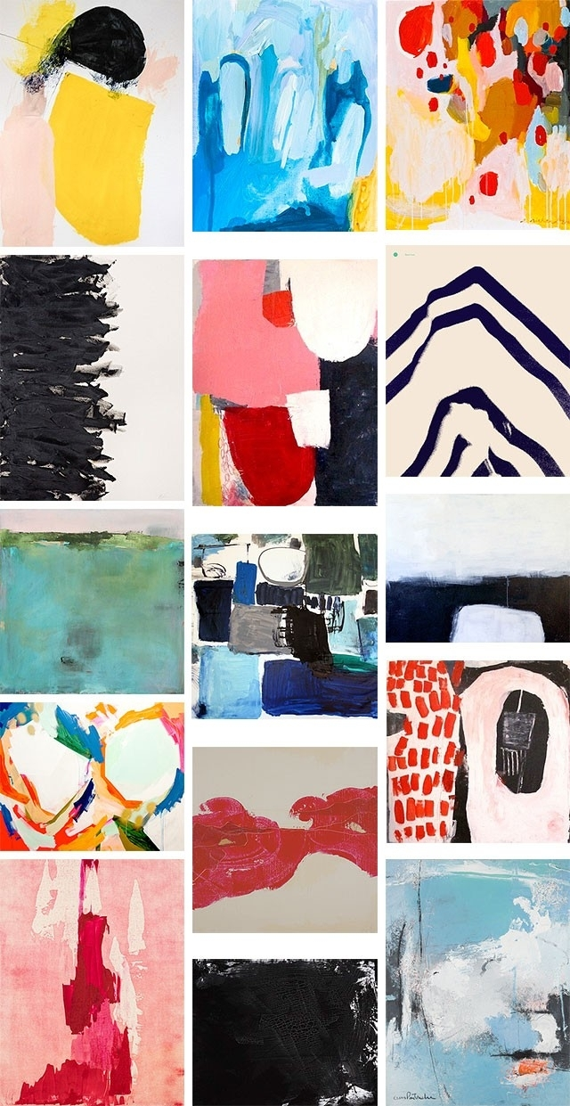 Some Of My Favorite Abstract Art Prints - Making It Lovely with Artfully Walls (Image 18 of 20)