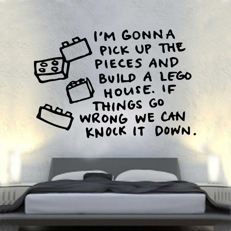 Song Lerics Vinyl Wall Art » Shop » Home With Regard To Song Lyric Wall Art (View 13 of 20)