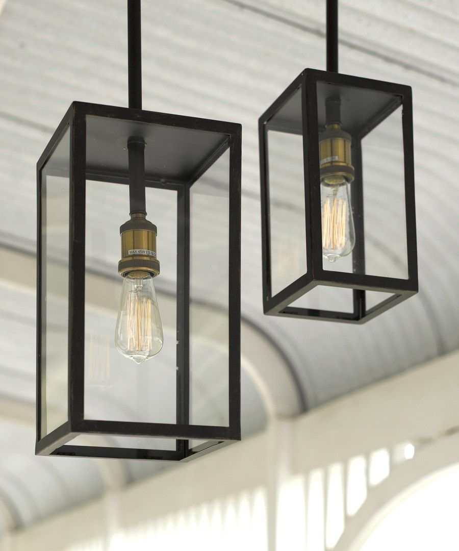 Southampton 1 Light Small Exterior Pendant In Antique Black with Outdoor Pendant Lanterns (Image 18 of 20)